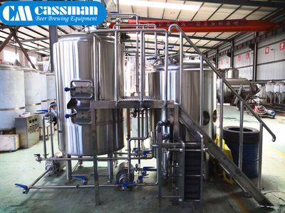 5bbl Gas Fired Brewhouse