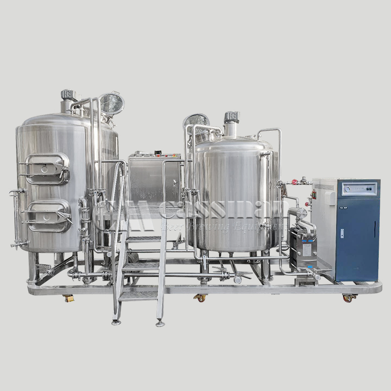 Combined Brewhouse System
